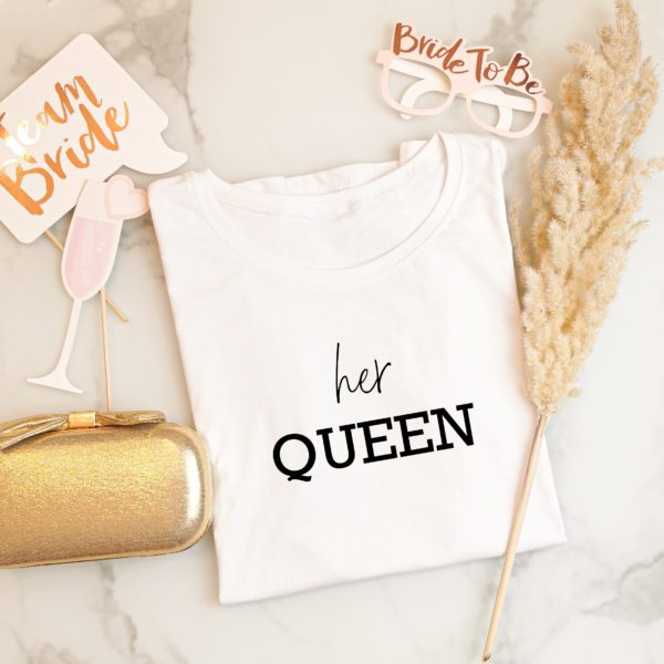 Damen T-Shirt her Queen