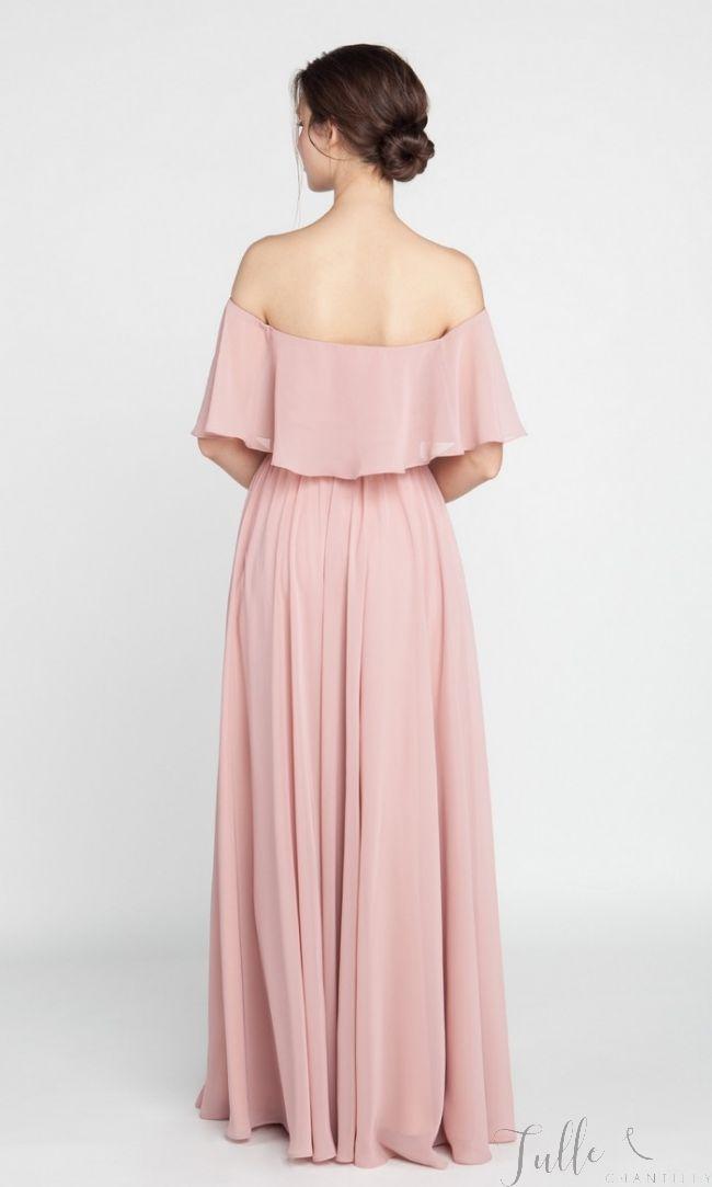 off shoulder - pink