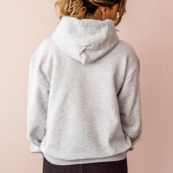 Damensweatshirt grau