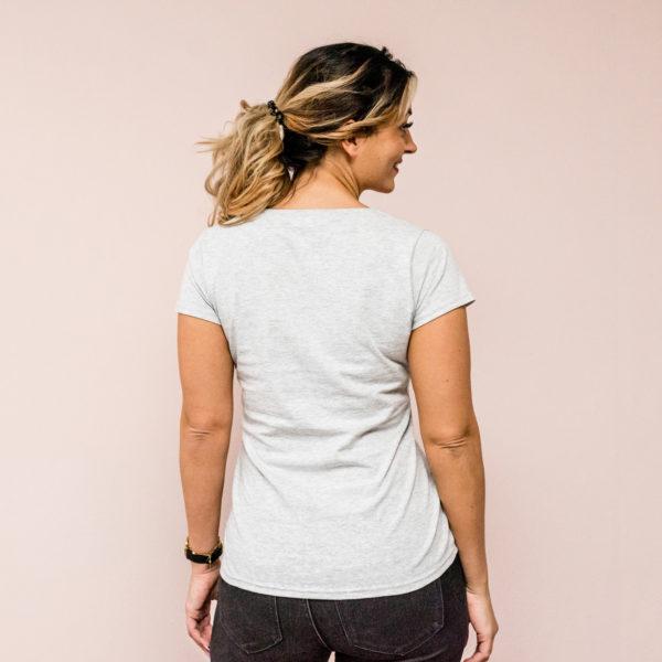 Damen T-Shirt grau